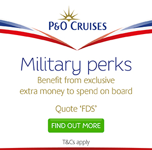 Exclusive military on-board spending money.