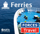 Forces Travel Ferries