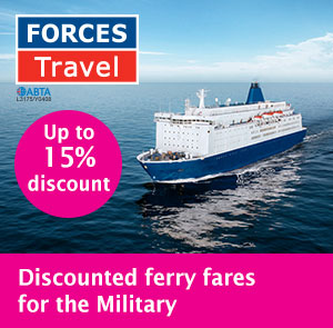 Up to 15% off Ferry Crossings