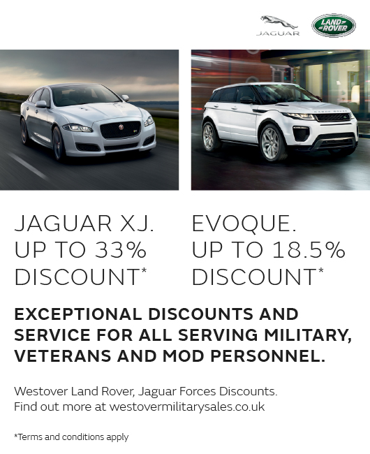 Westover Group Jaguar Land Rover Military Sales
